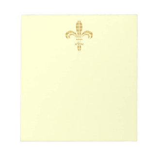 Mardi Gras Harlequin Fleur De Lis Memo Note Pad