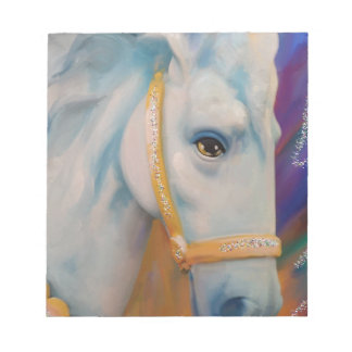 Mardi Gras Horse Notepad