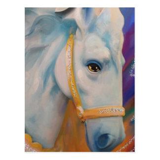 Mardi Gras Horse Postcard