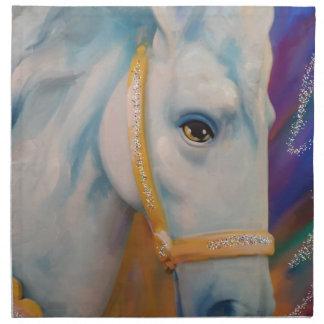 Mardi Gras Horse Printed Napkins