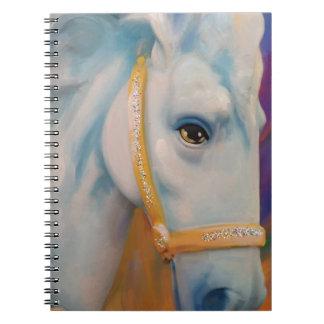 Mardi Gras Horse Spiral Notebook