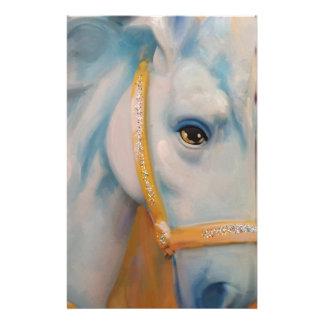 Mardi Gras Horse Stationery