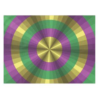 Mardi Gras Illusion Tablecloth