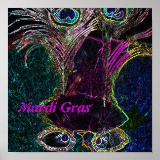 Mardi Gras in Color Print