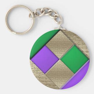 Mardi Gras Key Ring