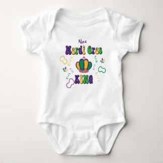 Mardi Gras King Baby Bodysuit