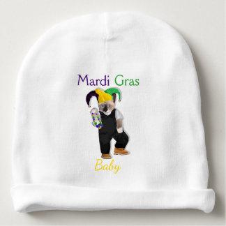 Mardi Gras Kittens Custom Baby Beanie
