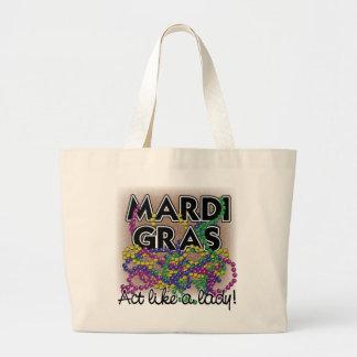 Mardi Gras Lady Bag 2018