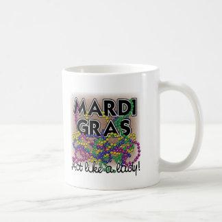 Mardi Gras Lady Mug