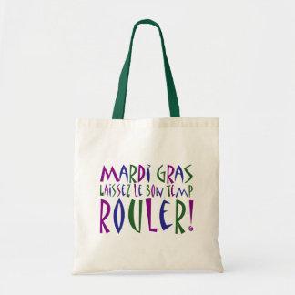 Mardi Gras - Laissez Le Bon Temp Rouler! Canvas Bag