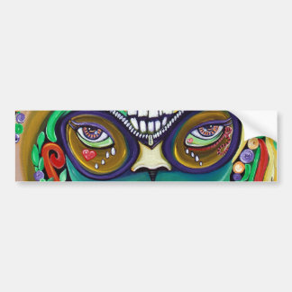 Mardi Gras Magic Bumper Sticker
