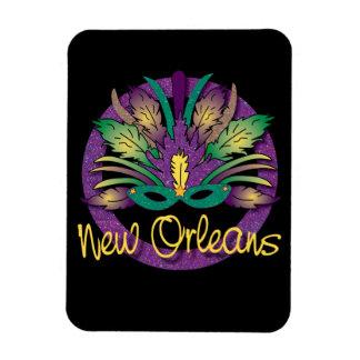 Mardi Gras Mask Magnet - New Orleans