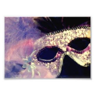 Mardi Gras Mask Photo Print
