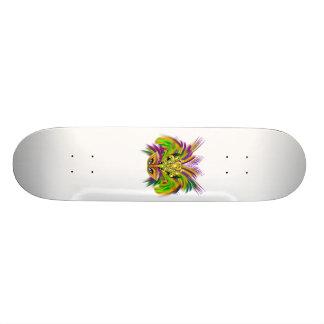 Mardi-Gras-Mask-The-Queen-V-2 21.3 Cm Mini Skateboard Deck