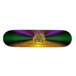 Mardi-Gras-Mask-The-Queen-V-3 20 Cm Skateboard Deck