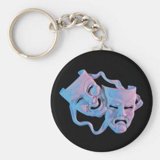 mardi Gras Masks Keychain