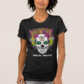 Mardi Gras Masque de l' Squelette Please View Note T-Shirt