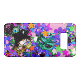 MARDI GRAS MASQUERADE BALL MASK  confetti Case-Mate Samsung Galaxy S8 Case