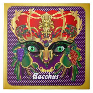 Mardi Gras Mythology Bacchus View Hints Please Ceramic Tile