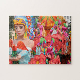 Mardi Gras New Orleans. Jigsaw Puzzle