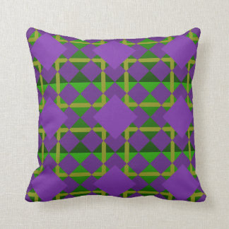 Mardi Gras New Orleans Louisiana Custom Pillow