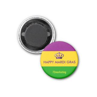 Mardi Gras New Orleans Magnet Happy Louisiana