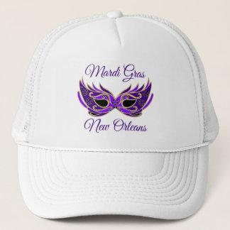 Mardi Gras New Orleans Mask Trucker Hat