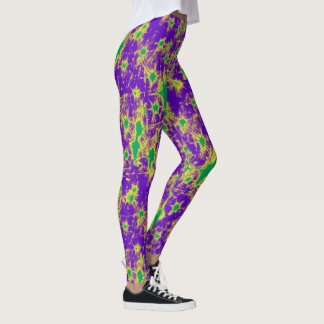 Mardi Gras Nightmare Leggings