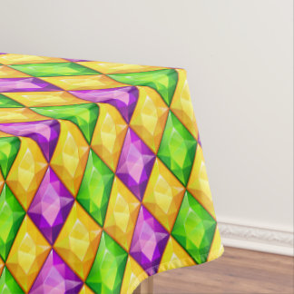 Mardi Gras or Any Occasion Festive Tablecloth