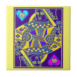 Mardi Gras Parade Queen by Sharles Ceramic Tile