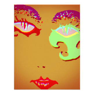 Mardi Gras Party Celebration Make-up Party Invites