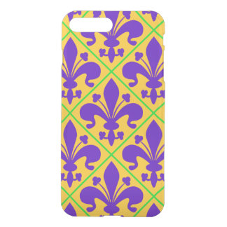 Mardi Gras Party New Orleans Fleur de Lis iPhone 8 Plus/7 Plus Case