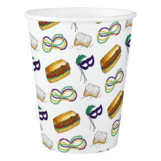 Mardi Gras Party NOLA New Orleans Beads Mask Cups