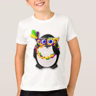 Mardi Gras Penguin T-Shirt