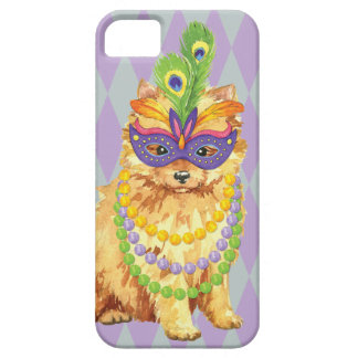 Mardi Gras Pomeranian iPhone 5 Cases
