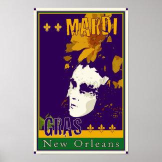 Mardi Gras Poster