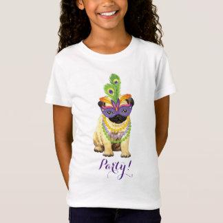 Mardi Gras Pug T-Shirt