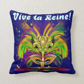 Mardi Gras Queen 1 Important Read About Design Cushion