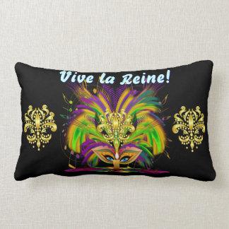 Mardi Gras Queen 1 Important Read About Design Lumbar Cushion