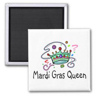 Mardi Gras Queen Magnet