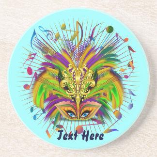Mardi Gras Queen Style 3 View Notes Plse Coaster