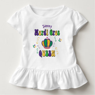 Mardi Gras Queen Toddler T-Shirt