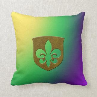 Mardi Gras Sovereign Cushion