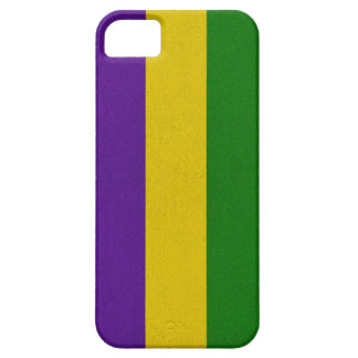 Mardi Gras Striped Pattern iPhone 5 Case
