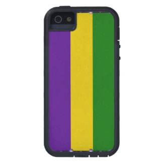 Mardi Gras Striped Pattern iPhone 5 Covers