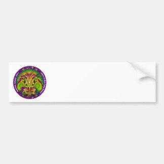 Mardi-Gras-The-Queen-Candle-1 Bumper Sticker