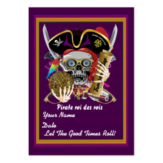 Mardi Gras Throw Card Please View Notes Pack Of Chubby Business Cards