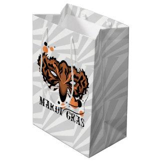 MARDI GRAS TIGRER Gift Bag -  MEDIUM