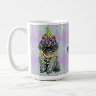 Mardi Gras Toy Poodle Coffee Mug