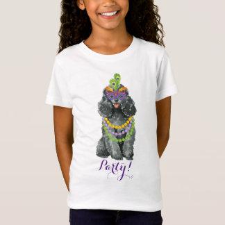 Mardi Gras Toy Poodle T-Shirt